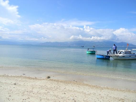 """Khu vực EVNGENCO3 xin """"đổ"""" 2,4 triệu m3 vật liệu xuống biển chỉ cách Khu bảo tồn biển Hòn Cau 10 hải lý."""