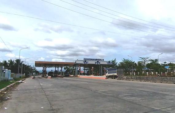 Trạm thu phí Km1661+600 trên địa bàn tỉnh Bình Thuận