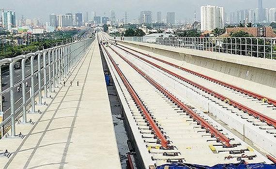 The construction site of Ben Thanh-Suoi Tien metro line project (Photo: SGGP)