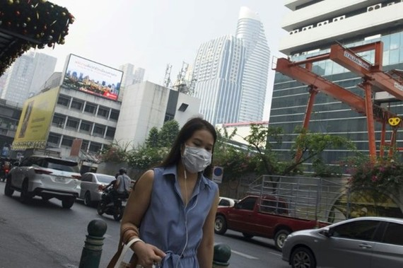 Heavy smog has covered Bangkok in recent weeks (Source: AFP)