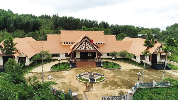 The cultural preservation site of S'Tieng ethnic minority group in Bom Bo hamlet