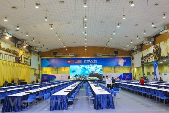 Inside the centre (Source: VNA)