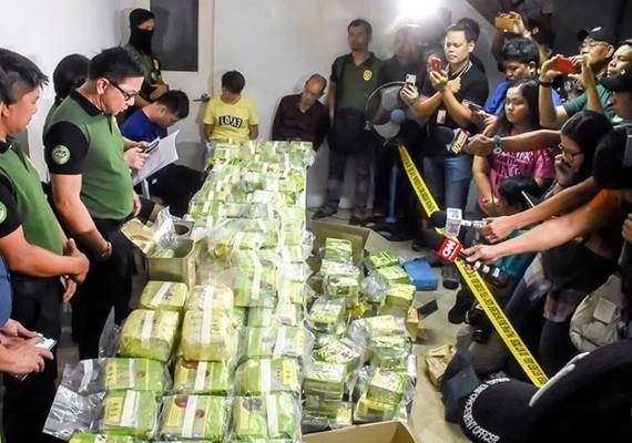 Thai police seize drugs worth US$25 million