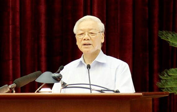 Party General Secretary and State President Nguyen Phu Trong (Photo: VGP)