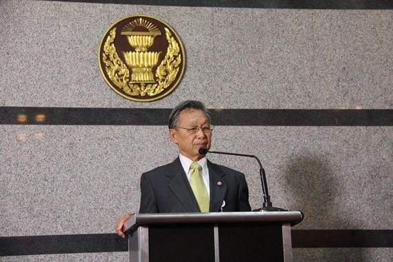 Newly elected Speaker of the House of Representatives of Thailand Chuan Leekpai (Photo: Xinhua/VNA)