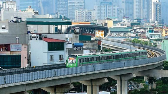   Cat Linh-Ha Dong railway project has not come into operation in Hanoi as per schedule (Photo: SGGP)