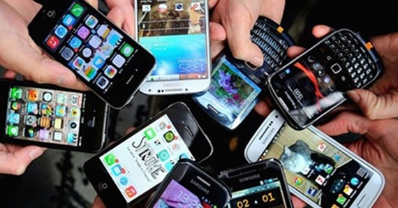Vietnam mostly imported mobile phones from China and the Republic of Korea in the period. (Photo: cafef.vn)