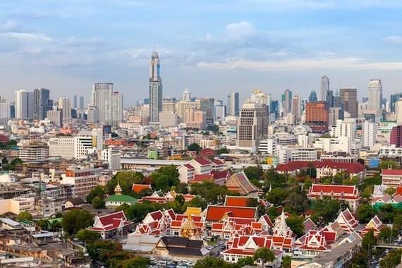 A corner of Bangkok city (Photo: picswe.com)