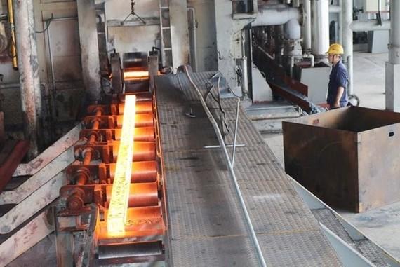 A steel mill in Vietnam (Photo: VNA)