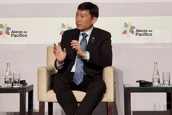 Senior Minister of State for Trade and Industry Chee Hong Tat of Singapore (Source: straitstimes.com)