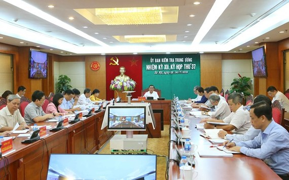 The 37th meeting of the Inspection Commission lasted from July 2 to 4 (Photo: VNA)