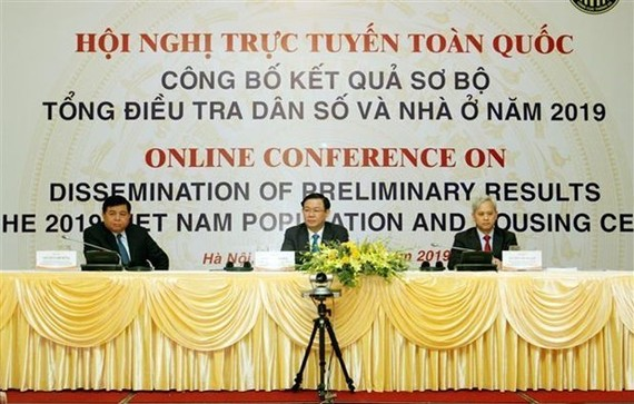 At the online conference (Photo: VNA)