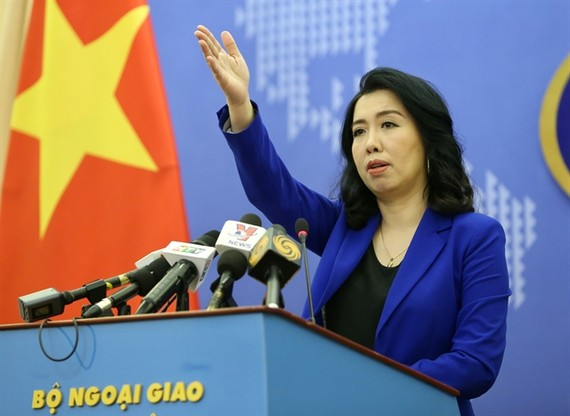Foreign Ministry spokesperson Le Thi Thu Hang. (Photo: VNA/VNS)