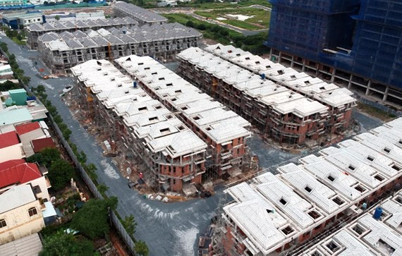 A violating real estate project in HCMC (Photo: SGGP)