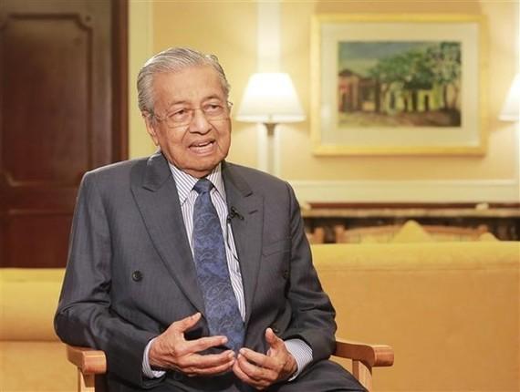 Malaysian Prime Minister Mahathir Mohamad (Photo: VNA)