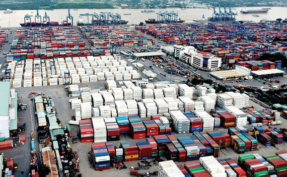 Cat Lai seaport in HCMC (Photo: SGGP)