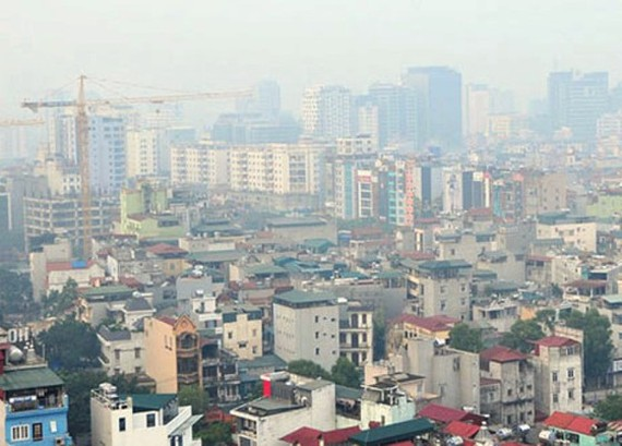 Hanoi's air has been alarmingly polluted recently