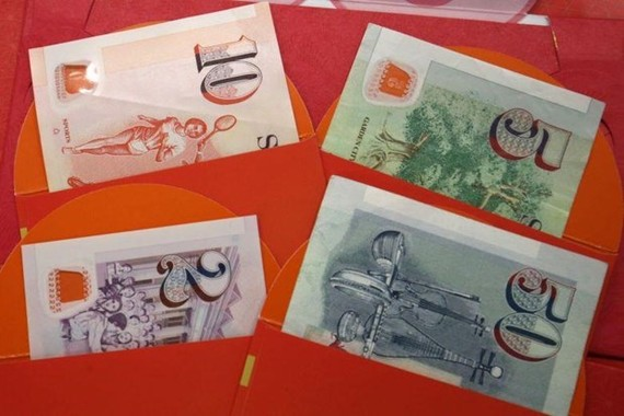 Banknotes of Singapore (Photo: www.straitstimes.com)