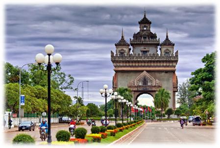 Vientiane - the capital of Laos (Source: internet)