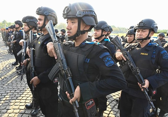 Indonesia tightens security to secure presidential inauguration