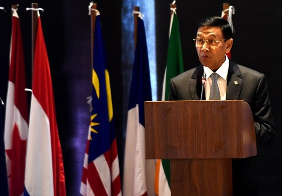 Indonesian Chief Security Minister Wiranto (File Photo: AFP/VNA)