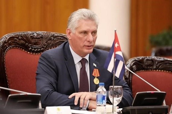 Miguel Diaz-Canel Bermudez is elected as President of the Republic of Cuba. (Source: EFE)