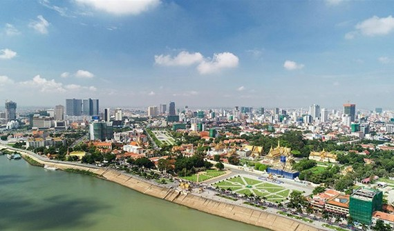 Cambodia's real estate sector experienced strong growth in the first half of the year. (Photo: khmertimeskh.com)