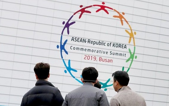 The ASEAN-RoK Commemorative Summit is underway in Busan. (Photo: Yonhap)