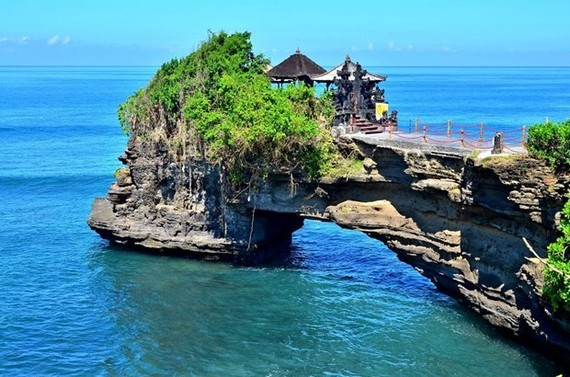 Tanah Lot in Bali is considered as one of the most popular destinations in Indonesia. (Photo: Jakarta Post)