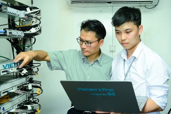 Viettel is one of the leading companies developing 5G products