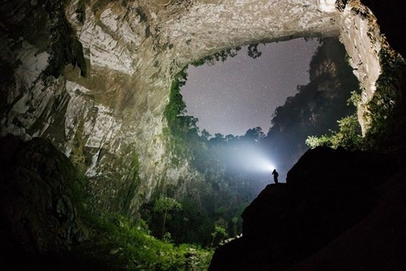 Son Doong Cave is located in the heart of the Phong Nha-Ke Bang National Park, a UNESCO World Heritage Site in the central coastal province of Quang Binh. (Source: Ryan Deboodt)