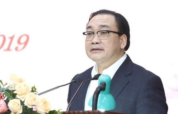 Secretary of the Hanoi municipal Party Committee Hoang Trung Hai (Photo: VNA)