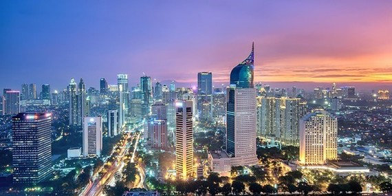 A corner of Indonesia's Jakarta capital (Source: Asialink)