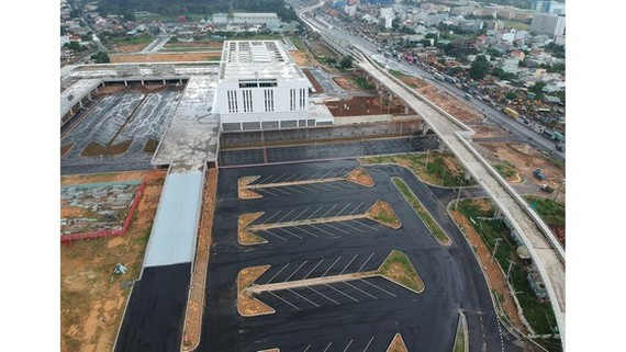 New Mien Dong Coach Station in District 9 (Photo: SGGP)