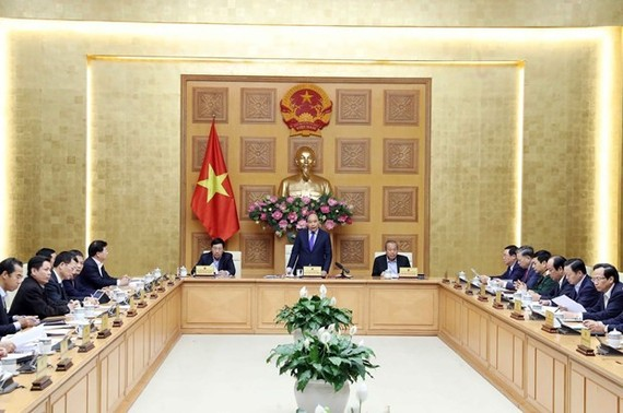 At the meeting of permanent Cabinet members on January 30 (Photo: VNA)
