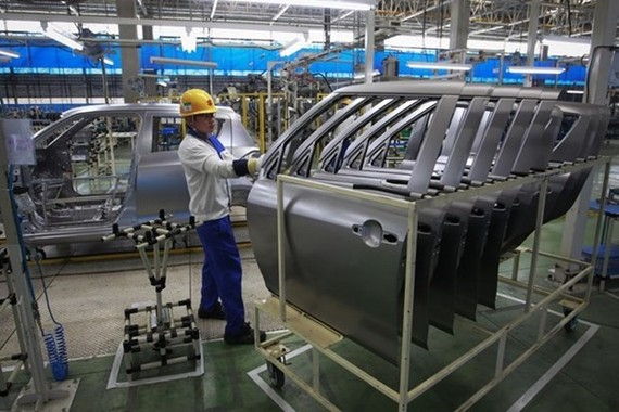 A car factory in Thailand (Photo: Reuters)