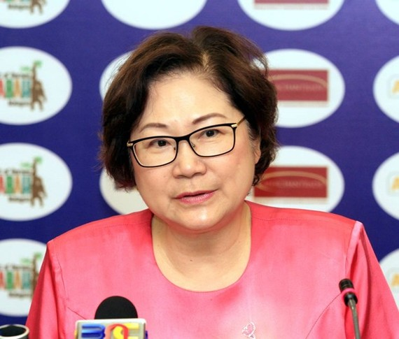 Deputy Chief Minister of Malaysia's Sabah state Christina Liew (Source: www.thestar.com.my)