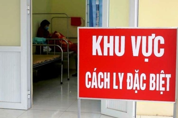 The isolation area in Vinh Phuc