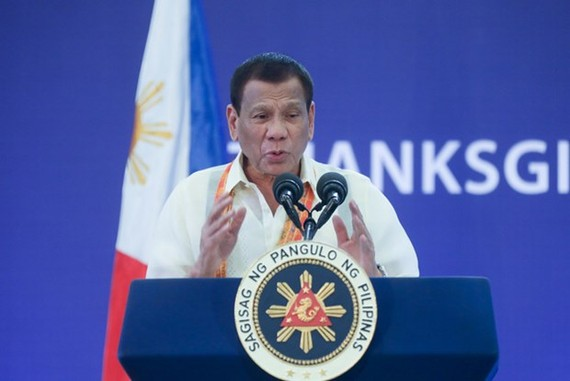 Philippine President Rodrigo Duterte (Photo: Internet)