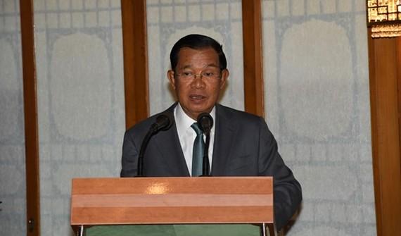 Cambodian Prime Minister Samdech Techo Hun Sen (Photo: khmertimeskh.com)