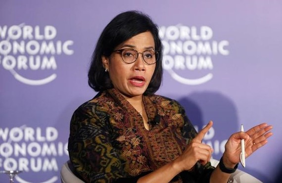 Indonesia's Finance Minister Sri Mulyani Indrawati attends the World Economic Forum on ASEAN at the Convention Center in Hanoi, Vietnam September 12, 2018. (Photo: Reuters)