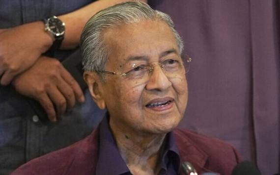 Malaysian Prime Minister Mahathir Mohamad (Source: AP)