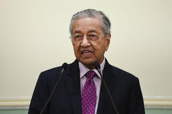Malaysia's interim Prime Minister Mahathir Mohamad (Photo: VNA)