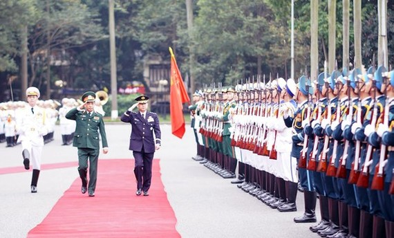 General Yamazaki Koji, Chief of Staff, Joint Staff of Japan Self-Defence Forces, pays an official visit to Vietnam from March 1 to 4. (Photo: SGGP)