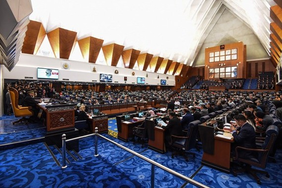 A sitting of the Malaysian parliament (File photo. Source: AFP/VNA)