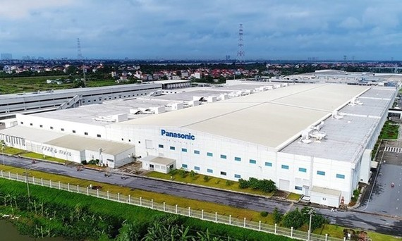 Panasonic's factory in Hanoi's Dong Anh district (Photo: XuanMaiCorp)