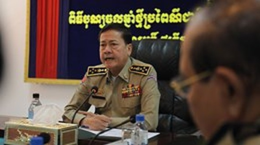 Cambodian National Police Chief General Neth Savoeun (Photo: https://www.khmertimeskh.com/)