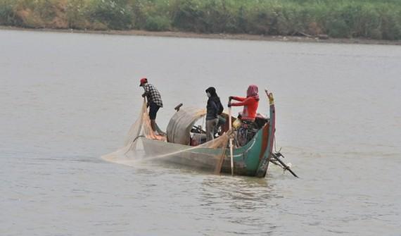 On Tonle Sap river (Photo: Khmer Times)