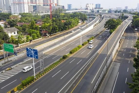 In Jakarta (Photo: Jakarta Post)