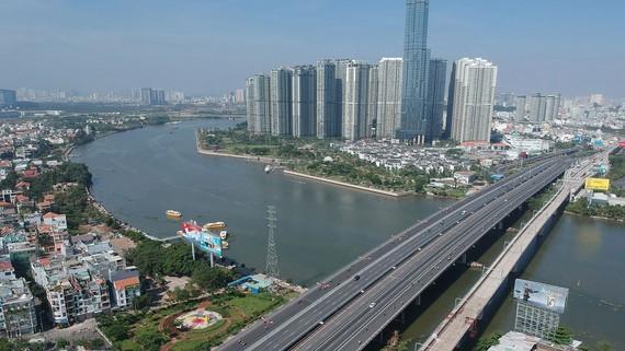 Saigon Bridge 2 (left) gained funding from PPP model